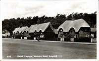 Ampthill. Thatch Cottages, Woburn Road # 6155 in Nene Series.