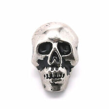 "Skull Concho Nickel with Black 1"" 440-21 by Stecksstore"