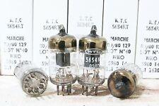 Mached 1 pair NIB RTC ( Mullard made ) 6AK5 M8100 5654 TUBES