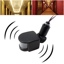 New 12M 180° Security PIR Infrared Motion Sensor Detector Wall LED Light Outdoor