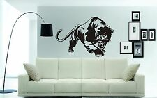 "BLACK PANTHER Wall Art Sticker, decal. Walls, glass, cars 74 x 54cms (29 x 21"")"