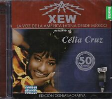 Celia Cruz 2CD La Voz de La America Latina desde Mexico 50 Exitos CD  New Nuevo