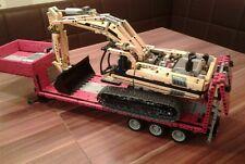 Recipe instruction profondamente caricatrici 8043 autocostruzione pezzo unico MOC LEGO Technic