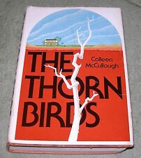 THE THORN BIRDS by Colleen McCullough ~ 1977 HC/DJ ~ 1st Edition 3rd Printing