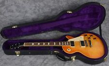 2004 Epiphone Les Paul Elitist Honey Burst Electric Guitar + Hard Case Japan