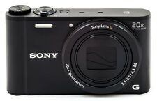 Sony Cyber-shot WX350 18MP WiFi 20X Optical Zoom Digital Camera (Black)