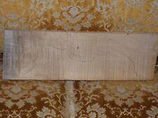 Tonholz, Tonewood, aus Nachlass, bestens geflammter Geigenboden