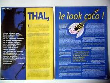 COUPURE DE PRESSE-CLIPPING : RON THAL - BUMBLEFOOT [4pages] 01/2002 Interview