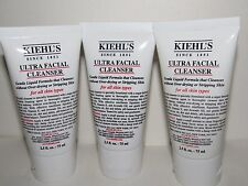 LOT 3 X NEW KIEHL'S ULTRA FACIAL CLEANSER For all Skin Types 7.5 oz / 225 ml