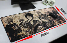 Oversized Mouse Pad Desk Keyboard Large Mat One Piece Anime 800*300*2mm