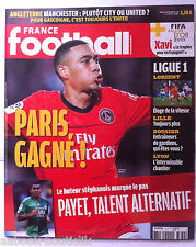 FRANCE FOOTBALL 9/11/2010; Manchester/ Payet/ Hoarau/ Lorient/ Lille/ Lyon
