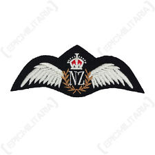 Royal New Zealand Air Force PILOT WINGS - RNZAF Padded Uniform Patch WW2 Repro