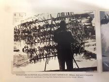 RIPRODUZIONE FOTO ALINARI VENDITORE PIFFERI FIERA S. AMBROGIO 9X12 ANNI '50 (6)