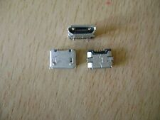 2 x 5 Pin Female Micro Mini USB SMT Socket Connector For Mobile Phones And Other