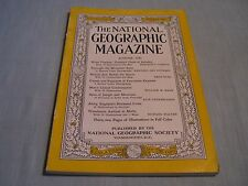 VINTAGE NATIONAL GEOGRAPHIC August 1940 W.VIRGINIA England Canals +Pageants APES