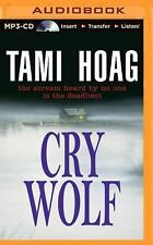 Tami Hoag CRY WOLF Unabridged MP3-CD 18.5 Hours  *NEW* FAST 1st Class Ship!