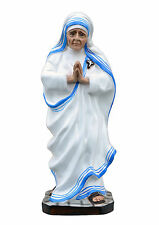 Saint Mother Teresa of Calcutta resin statue cm. 32