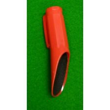 Red Cartasport Hard Plastic Snooker-Pool Cue Sand paper Tip Shaper Or Domer.