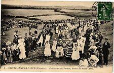 CPA Sainte Anne la Palud-Procession du Pardon-Statue de Sainte Anne (188795)