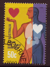 AUSTRALIA 2008 ORGAN AND TISSUE DONATION FINE USED