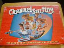 Milton Bradley Family Party Game ~ Channel Surfing ~ Remote Control TV Game  New