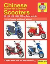 Haynes 4768 Chinese Taiwanese Korean Scooter Workshop Service Manual Twist & Go