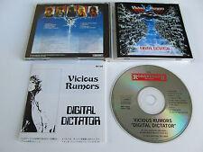 VICIOUS RUMORS Digital Dictator CD 1988 RARE OOP JAPANESE PRESSING ROADRUNNER!!!