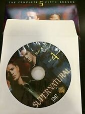 Supernatural - Season 5, Disc 4 REPLACEMENT DISC (not full season)