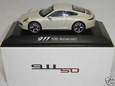 PORSCHE 911 50th Anniversary 50 anni PORSCHE 911 Welly 1:43 Museo Edition NUOVO