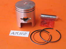 Suzuki AX100 Piston 50mm Bore Standard Rings Pin Clips Kit 2-Stroke #12140-23411