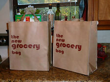 THE NEW GROCERY BAG  is reusable and easy to keep bacteria free!   (Set of 3)