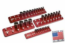 Standard Billet Socket Organizer Set Tool Holders Trays