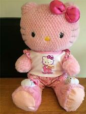 BUILD A BEAR FACTORY RARE & HTF BEDTIME PINK HELLO KITTY PJS/SLIPPERS