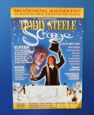 THEATRE FLYER SCROOGE SIGNED BY BARRY HOWARD [ HI DI HI ]