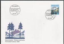 v597 Schweiz/ Natur-Berge  MiNr 1489 auf FDC