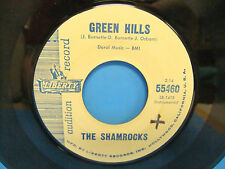 The Shamrocks Green Hills / Lonely Island 1962 Promo 45 Single Liberty 55460