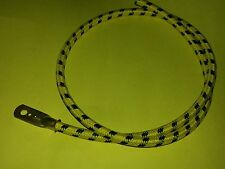 1920s Flat Tank Vintage Yellow/Black Cotton Braided Spark Plug Lead Terminal 24""