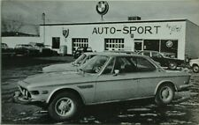 BMW 3.0 CSi USA dealer promotional postcard. c.1973 #2