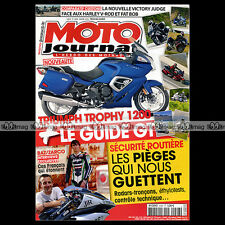 MOTO JOURNAL N°2008 VICTORY 1700 VISION TRIUMPH 1200 TROPHY YAMAHA FJR 1300 2012
