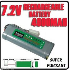 Pack 7.2V 4600mAh Accu Battery Rechargeable TAMIYA RC - SUPER POWER