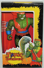 Ultra Scarce Vintage TOXIC AVENGER Crusader Mutant Comic Book Figure MINT MIB