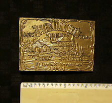 BELT BUCKLE JACK DANIELS WHISKEY ST LOUIS MO EXPOSITION