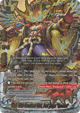 "Buddyfight x 1 Stout Wrist Unmatched Chief, Duel Jaeger ""Revolted"" [D-BT02/0123E"