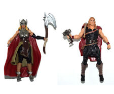 "Marvel Universe Jane Foster & Thor With Weapon 3.75"" Loose Action Figure"