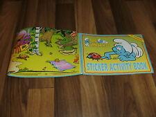 SMURFS/Schlümpfe-Peyo --  STICKER ACTIVITY BOOK von 1997 / ULTRA RARE