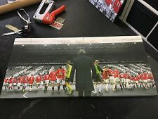 "Manchester United #MUFC the Fergie Years Canvas Print (28""x13"")"