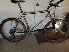 Merlin Extralight XTR 985 Group---3/2.5 Ti Mountain Bike LARGE Full XTR 20 SPEED