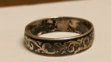 Vintage Ladies 'SIAM' Sterling Silver Ring - Size 7.5 - Beauty!