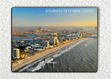 SOUVENIR FROM ATLANTIC CITY,  NEW JERSEY #1 FRIDGE MAGNET -gje4Z