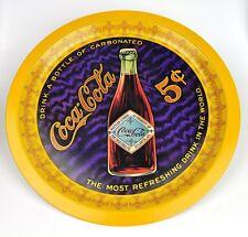Coca-Cola Coke Metal de hoja Bandeja Ee.Uu. la porción - Drink a Botella - 1976